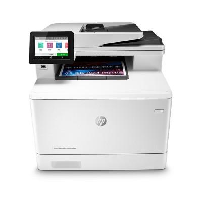 HP Лазерен принтер 4 в 1 Color LaserJet Pro MFP M479fdn, A4, цветен