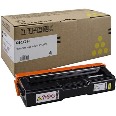 Ricoh Тонер SP C250SF, 1600 страници, Yellow