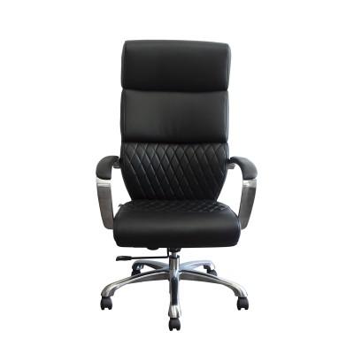 RFG Директорски стол GRANDE HB, екокожа, черен