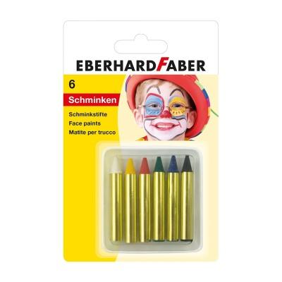 Ebarhard Faber Пастели за лице, 6 цвята