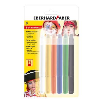 Ebarhard Faber Пастели за лице, 6 цвята с апликатор