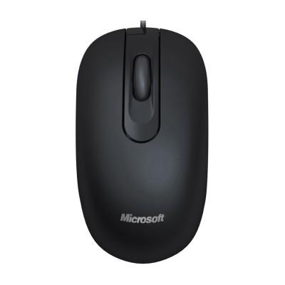 Microsoft Мишка 200, оптична, USB, черна