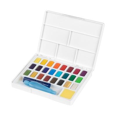 Faber-Castell Акварелни бои, в кутия - палитра, 24 цвята