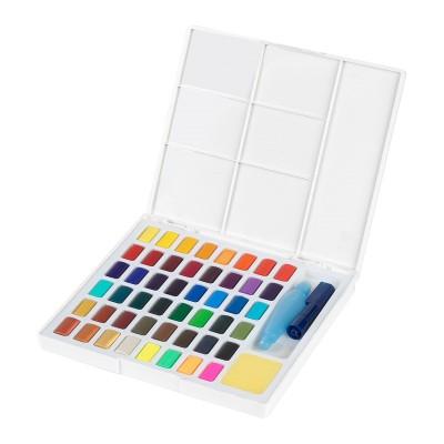 Faber-Castell Акварелни бои, в кутия - палитра, 48 цвята