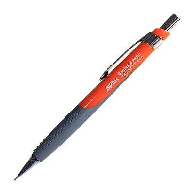 Beifa Молив A+ 701, автоматичен, 0.7 mm, оранжев, в компект с графити и гума
