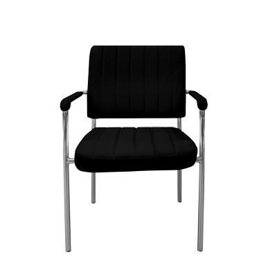 RFG Посетителски стол Glos M, черен