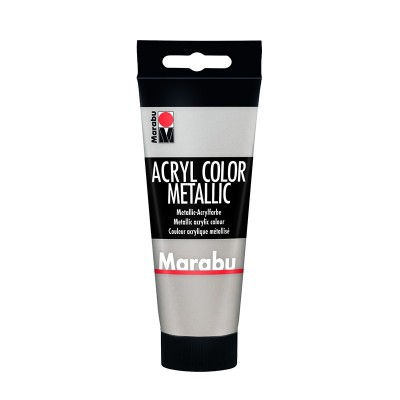 Marabu Акрилна боя Acryl Color, № 082, сребро, 100 ml