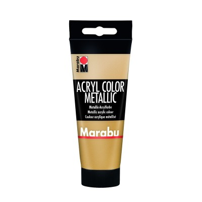 Marabu Акрилна боя Acryl Color, № 084, злато, 100 ml