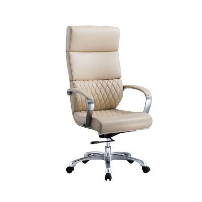 RFG Директорски стол GRANDE HB, екокожа, бежов