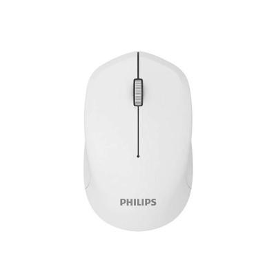 Philips Мишка M344, безжична, бяла