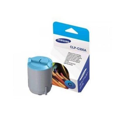 Samsung Тонер CLP-C300A, 1000 страници/5%, Cyan