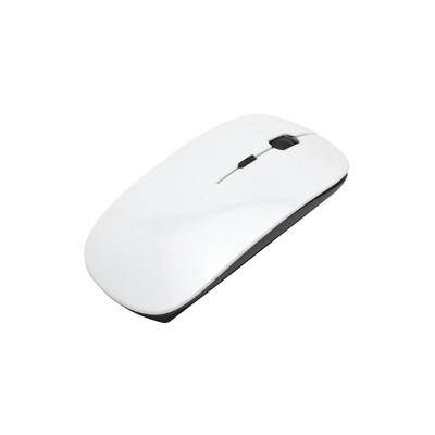 BESTSUB Мишка, безжична, бяла, с възможност за персонализация