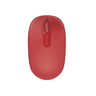 Microsoft Мишка 1850, безжична, USB, червена