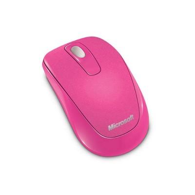 Microsoft Мишка 2CF-00034, безжична, оптична, 1000 dpi, розова