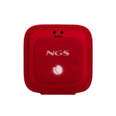 NGS Тонколона Roller Ride, преносима, Bluetooth, 10 W, червена