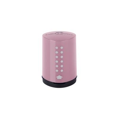 Faber-Castell Острилка Grip 2001, единична, цвят розови сенки