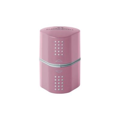 Faber-Castell Острилка Grip 2001 Trio, цвят розови сенки