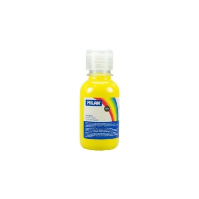Milan Темперна боя, в бутилка, жълта, 125 ml, 12 броя