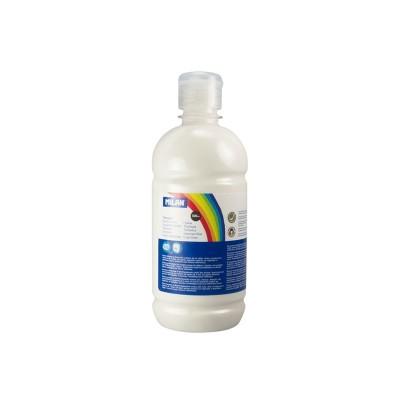 Milan Темперна боя, в бутилка, бяла, 500 ml, 6 броя