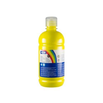 Milan Темперна боя, в бутилка, жълта, 500 ml, 6 броя