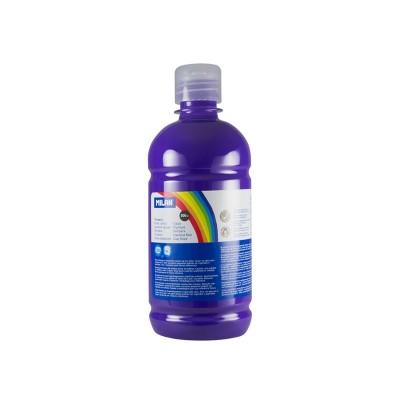 Milan Темперна боя, в бутилка, виолетова, 500 ml, 6 броя