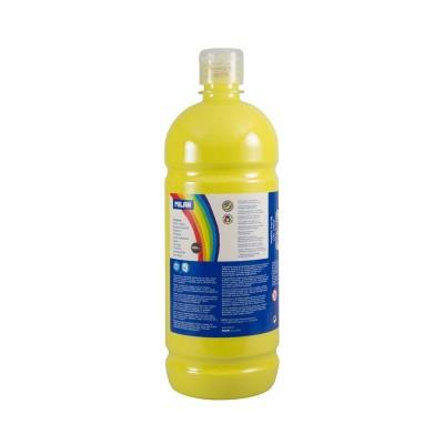 Milan Темперна боя, в бутилка, жълта, 1 L, 6 броя