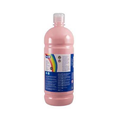 Milan Темперна боя, в бутилка, бледорозова, 1 L, 6 броя