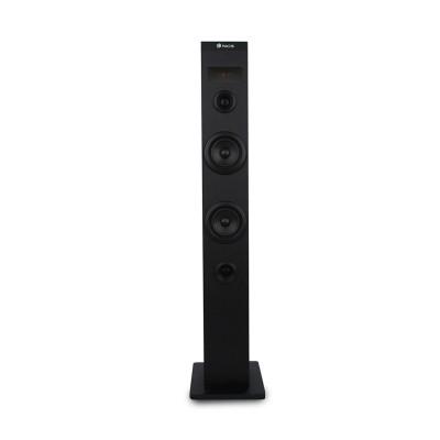 NGS Тонколона Tower Sky Charm, USB, FM радио, 50 W, черна