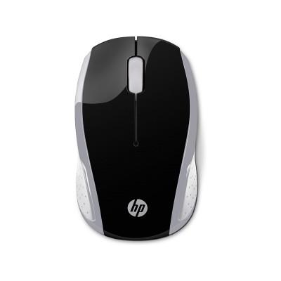 HP Мишка 200 2HU84AA, безжична, 2.7GHz, сребриста