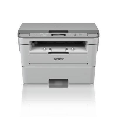 Brother Лазерен принтер 3 в 1 DCP-B7500D, монохромен, A4