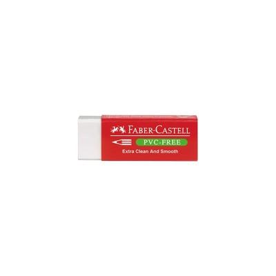 Faber-Castell Гума 189520, без съдържание на пластмаса, бяла