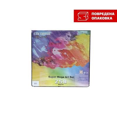 Foska Рисувателен комплект, 258 части