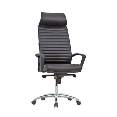 RFG Директорски стол Rim, екокожа, черен