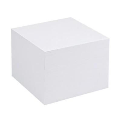 Хартиени кубчета, пълнежи, поставки - UNOFAX ХАРТИЕНО КУБЧЕ БЯЛО СЛЕПЕНО