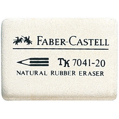 FABER-CASTELL ГУМА 7041-20 БЯЛА