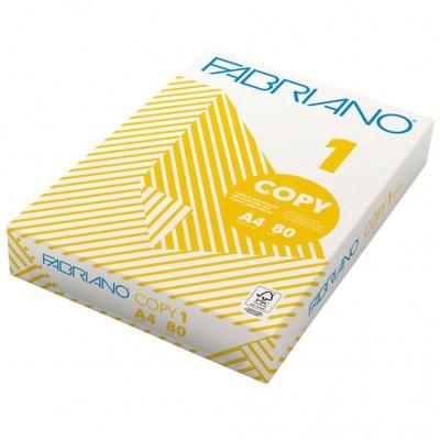 Fabriano Copy1 копирна хартия А4 500 листа 5 броя
