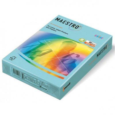 MAESTRO M.BLUE MB30 ЦВЕТНА ХАРТИЯ А4 ,80гр/м2, 500л.