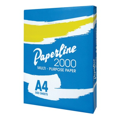 PAPERLINE копирна хартия А4, 500 листа 5 броя